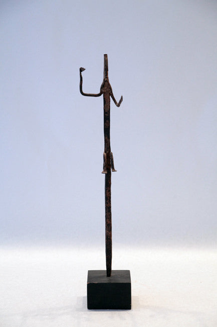 Superb Bamana Iron Figure, Mali