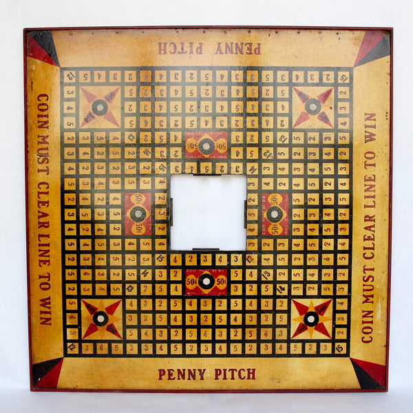 American Carnival Penny Pitch Board