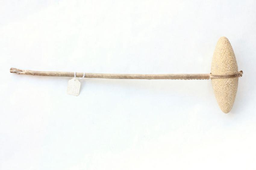Crow Dance Wand, Egg Shaped