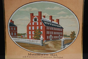Harvard College: Hollis, Harvard And Massachusetts Hall