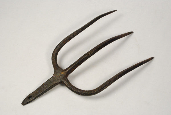 Hand Forged 19Th Century American Pitchfork