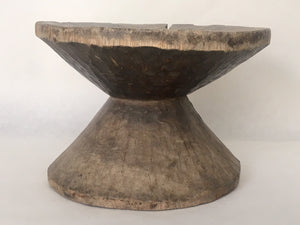 Hour Glass Shaped West African Stool