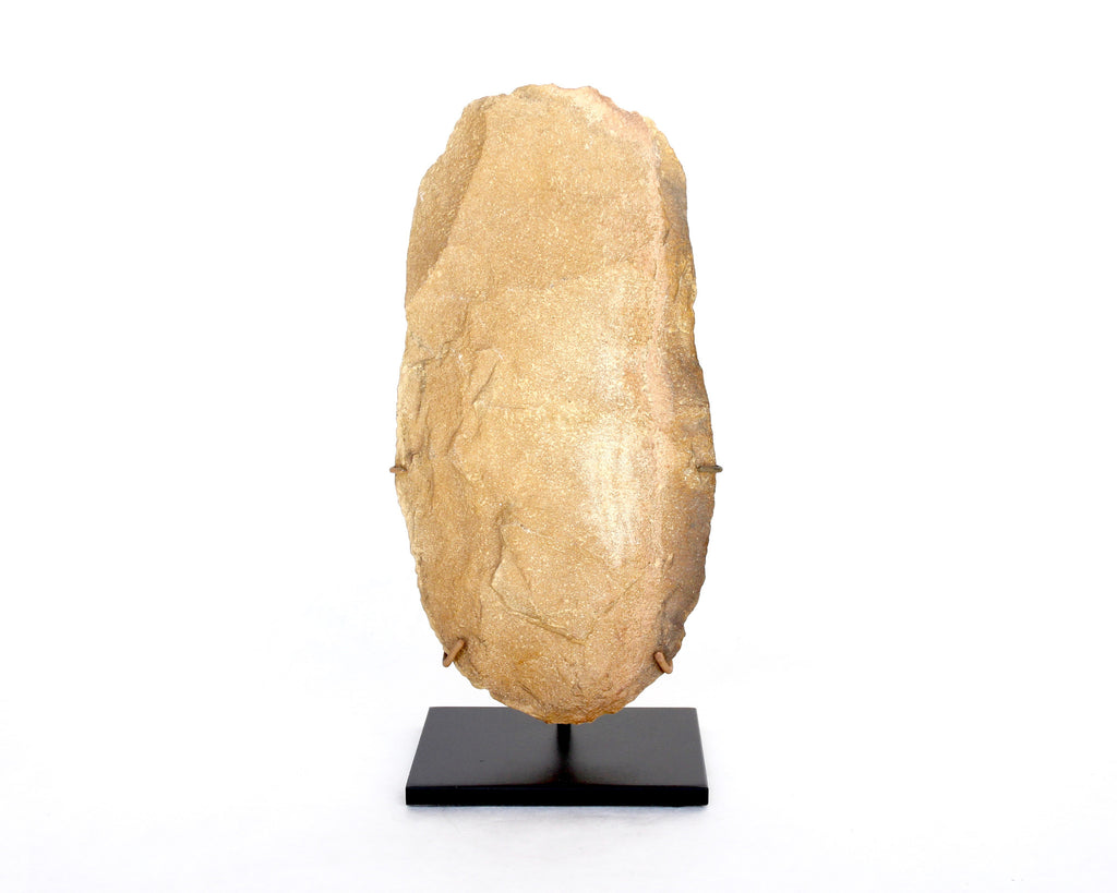 Huge Saharan Oval Lower Paleolithic Handaxe