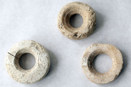 Three Solomon Island Seashell Currency Rings