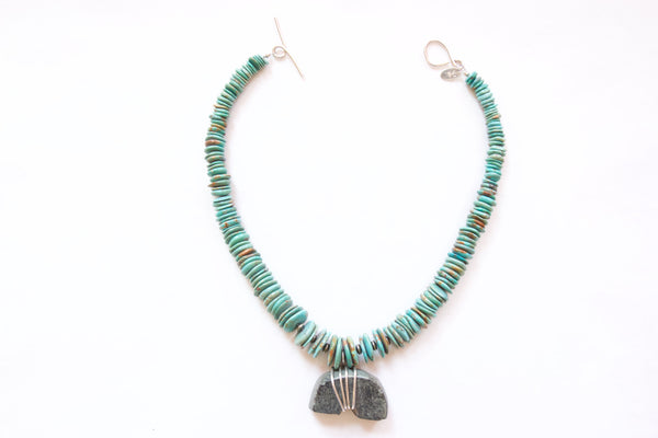 Amber Reed Turquoise Necklace