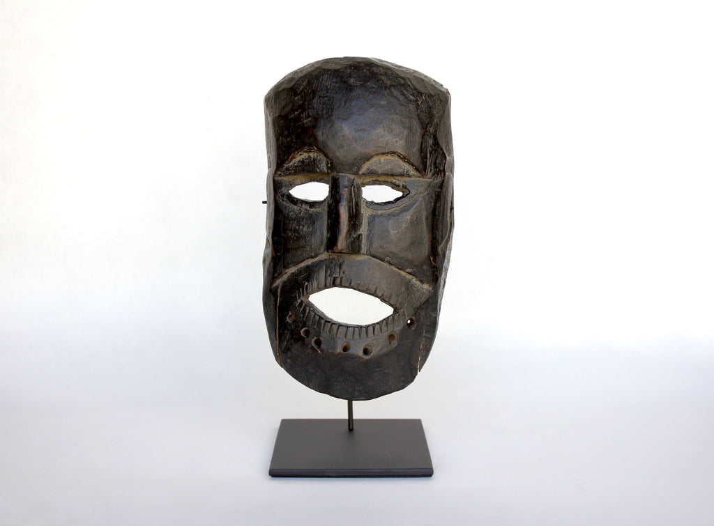 Early Himalayan Animist Middle Hills Mask, Nepal