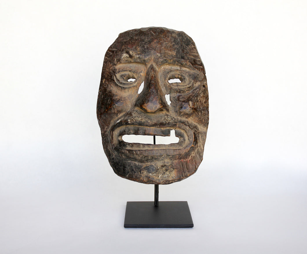 Early Middle Hills Himalayan Wooden Mask