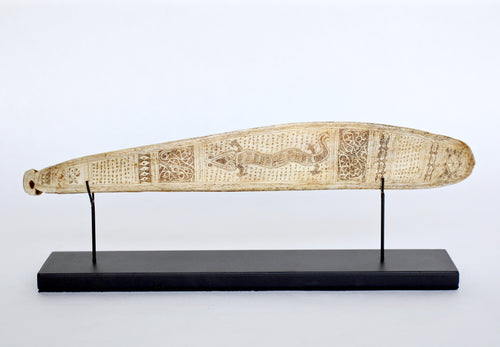 Indonesian Engraved Oracle Bone