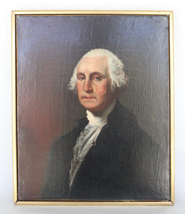 Original Oil Painting of George Washington