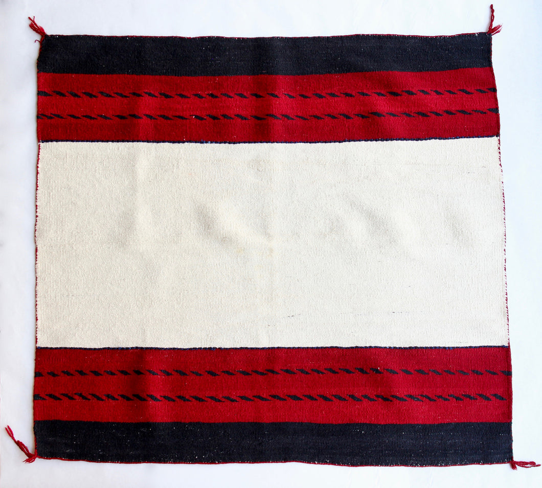Navajo Horse Blanket, with Indigo