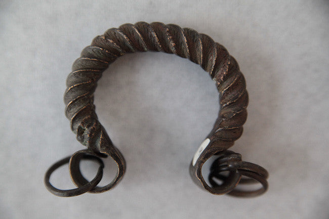 old Dogon Anklet from Mali