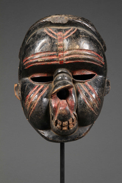 "An Ibibio ""deformation"" mask"