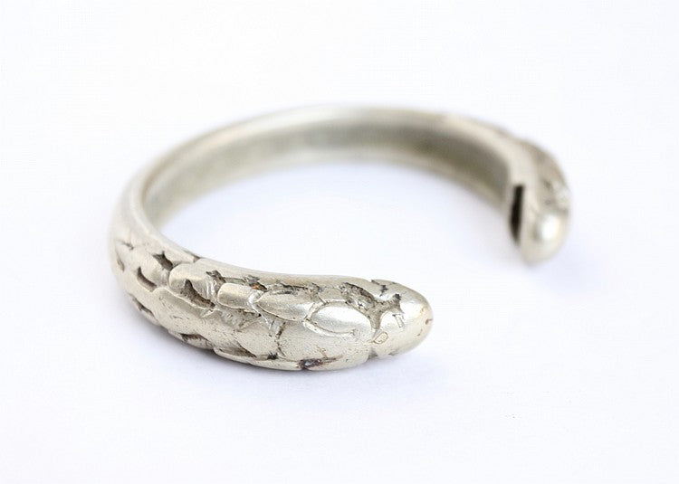 Indonesian Dragon Bracelet, Nickel or Silver Alloy