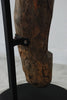 Dogon ladder mounted on a base