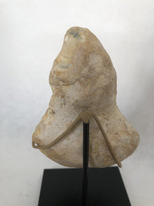 Lower Paleolithic Triangular Mask Handaxe