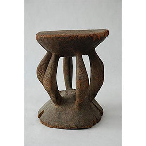 New Guinea Large Sepik River Stool