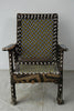 Old Kuba Beaded Chief's Chair