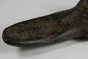 Taino curved axe from the ancient Antilles