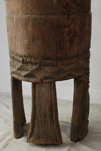Very Tall West African Ceremonial Drum