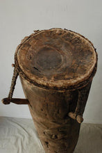 TOP OF A WEST AFRICAN CEREMONIAL DRUM