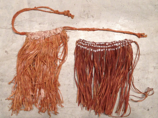 Two Old Aboriginal Ceremonial Skirts