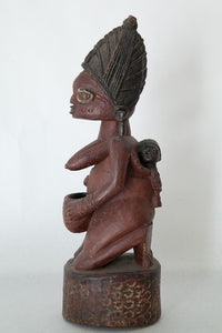 Superb Yoruba Shrine Figure