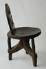 Ethiopian chair with three arching legs