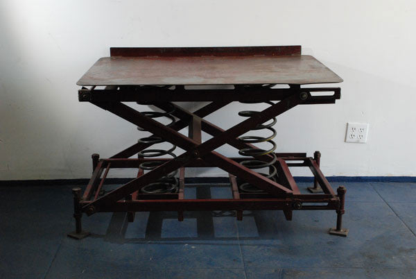 Coil Spring Factory Table