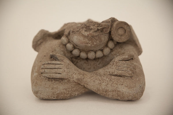 Ancient Mayan Ceramic Figure