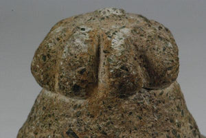 close up of early Bactrian ritual object