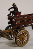 Cast Iron Fire Wagon A