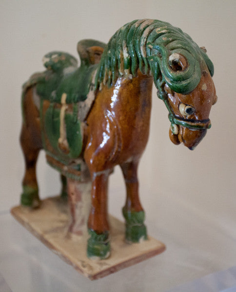 Chinese Ming Dynasty Saddlehorse