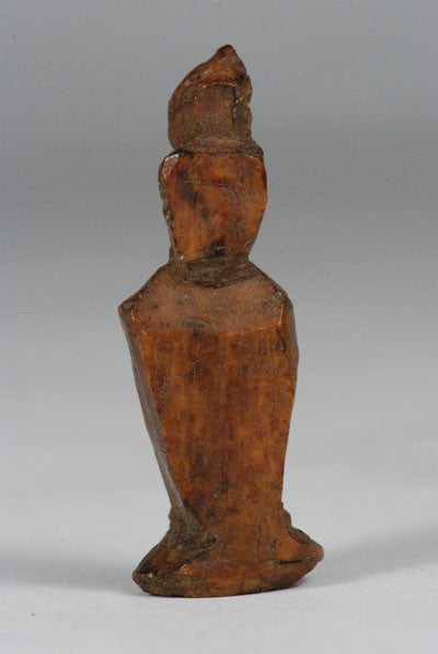 ancient Inuit figure carved from walrus ivory