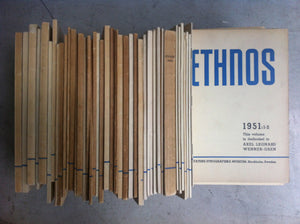 Ethnos publications stacked up