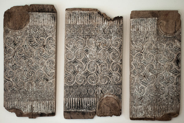 3 HOUSE PANELS, INDONESIA 19th century or before