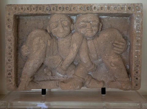 Two Stone Indian Carvings