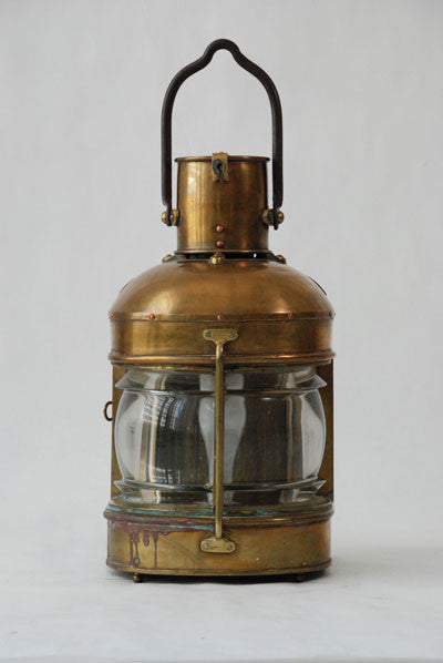 Lamp Brass Ship