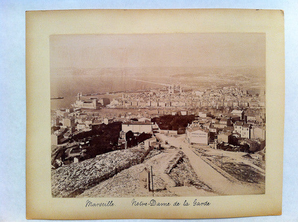 the port of Marseille, France circa 1890