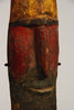 close up of a New Guinea Wosera wood head