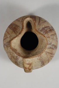 looking into a Northwestern Persia pitcher