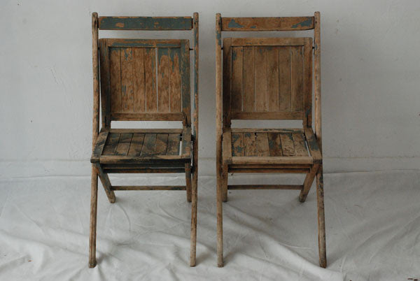 Painted Foldings Chairs