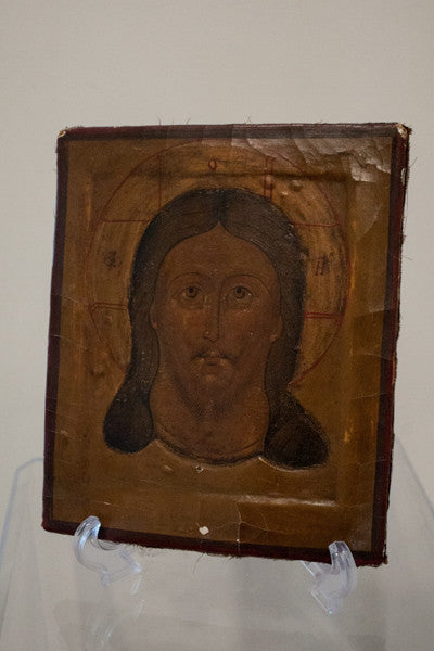 Russian Icon painting depicting Jesus