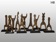 An Exceptional Collection Of Baule Figural Slingshots