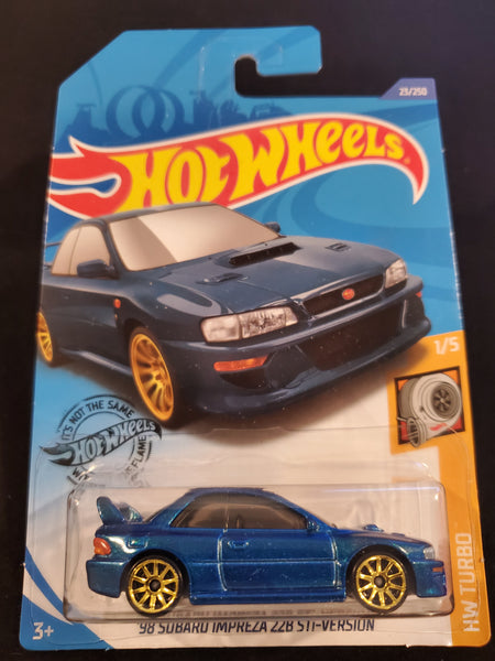 Hot Wheels - '98 Subaru Impreza 22B STi-Version - 2020