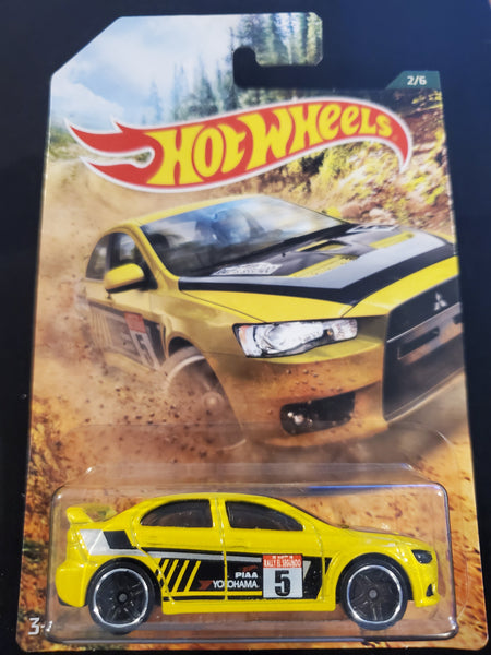 Hot Wheels - '08 Lancer Evolution- 2019 Backroad Rally Series