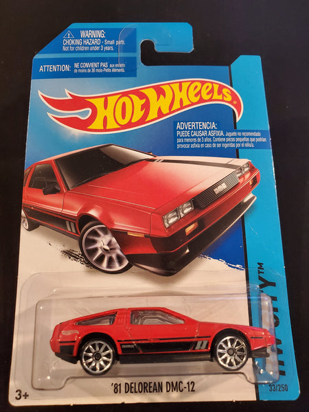 Hot Wheels - '81 Delorean DMC-12 - 2014