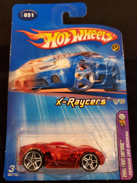 Hot Wheels - Ferrari 360 Modena - 2005