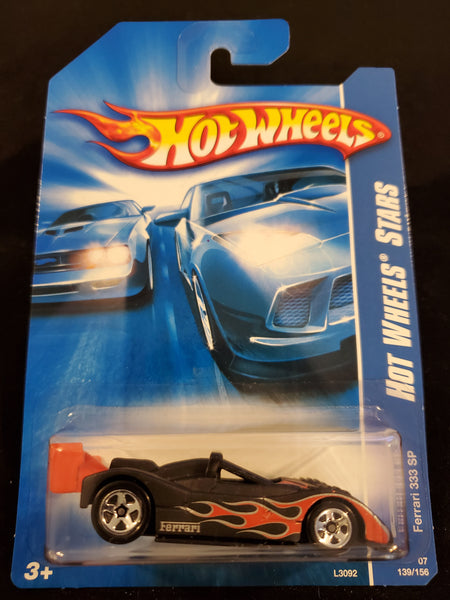 Hot Wheels - Ferrari 333 SP - 2007