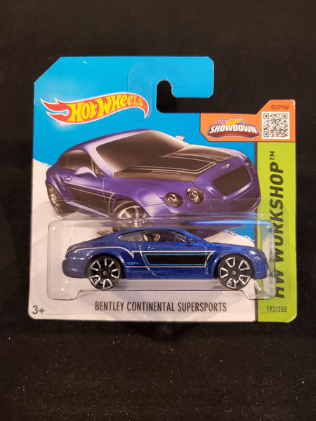 Hot Wheels - Bentley Continental Supersports - 2015