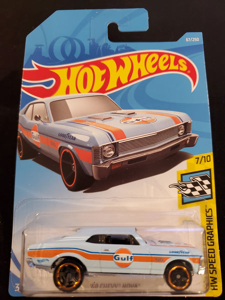 Hot Wheels - '68 Chevy Nova - 2019